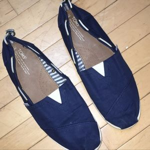 2da0ae95e0f Toms Shoes - Men s TOMS Navy Bimini boat shoes
